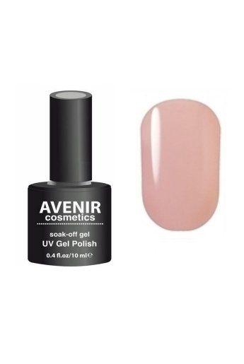 Авенир Cosmetics Гель-лак для ногтей 10мл №019 телесный розовый