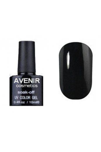 Авенир Cosmetics Гель-лак для ногтей 10мл №097 черная эмаль