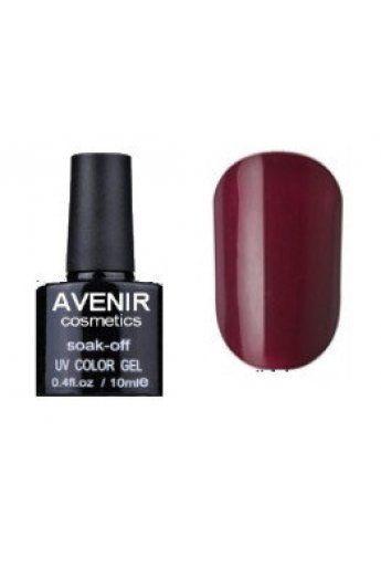 Авенир Cosmetics Гель-лак для ногтей 10мл №070 бордовый классический