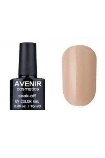Авенир Cosmetics Гель-лак для ногтей 10мл №028 пастельный теплый