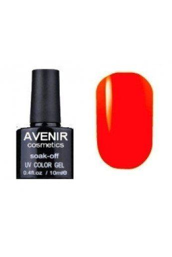 Авенир Cosmetics Гель-лак для ногтей 10мл №056 оранжево-розовый электрик