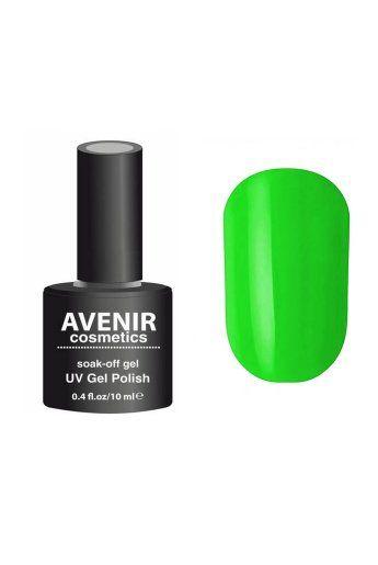 Авенир Cosmetics Гель-лак для ногтей 10мл №093 салатовый электрик
