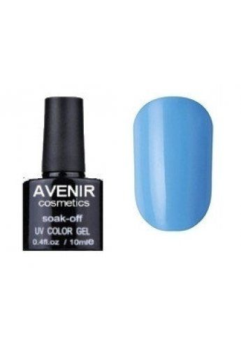 Авенир Cosmetics Гель-лак для ногтей 10мл №088 голубой небесный