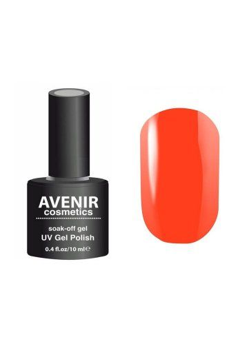 Авенир Cosmetics Гель-лак для ногтей 10мл №194 кораллово-морковный