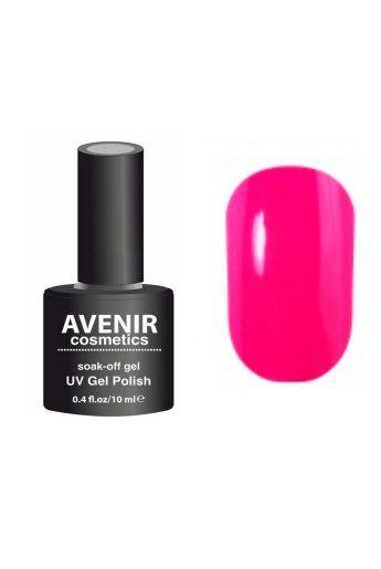 Авенир Cosmetics  Гель-лак для ногтей 10мл №197 розовый электрик
