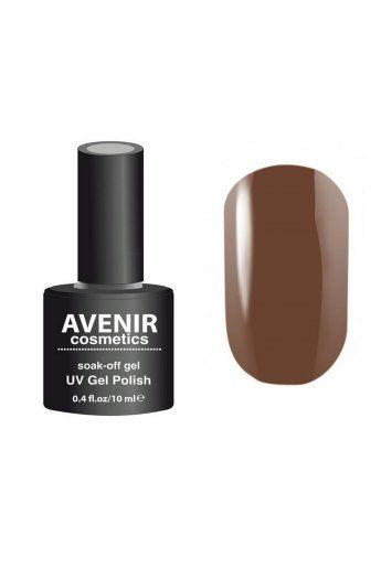 Авенир Cosmetics Гель-лак для ногтей 10мл №200 какао-ретро