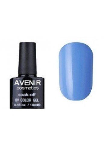 Авенир Cosmetics Гель-лак для ногтей 10мл №087  голубая лазурь