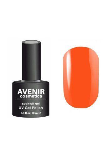 Авенир Cosmetics Гель-лак для ногтей 10мл №053 испанский мандарин
