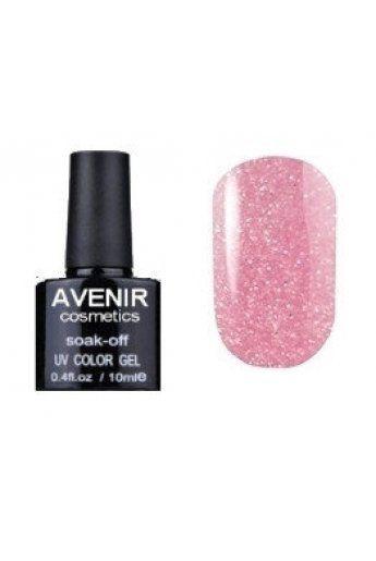 Авенир Cosmetics Гель-лак для ногтей 10мл №149 розовая слюда