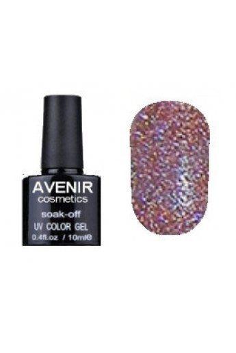 Авенир Cosmetics Гель-лак для ногтей 10мл №162 сиреневые кристаллы