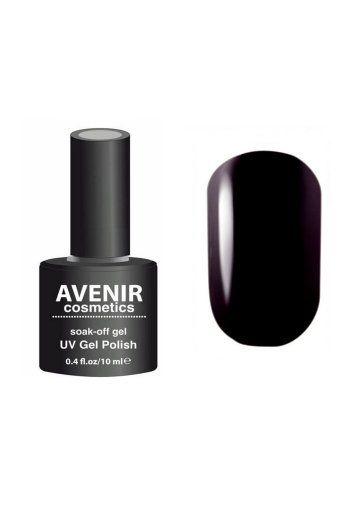 Авенир Cosmetics Гель-лак для ногтей 10мл №117 очень темный баклажановый