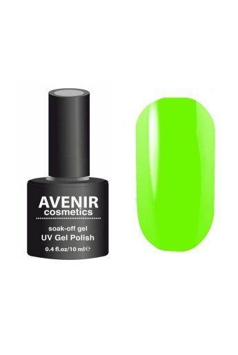 Авенир Cosmetics Гель-лак для ногтей 10мл №099 зеленый неоновый