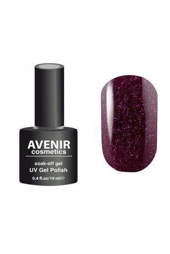 Авенир Cosmetics Гель-лак для ногтей 10мл №115 авантюрин фиолетовый