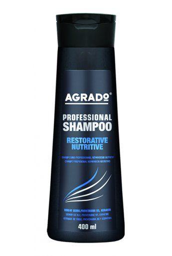 AGRADO Шампунь для волос профессиональный ОБНОВЛЯЮЩИЙ И ПИТАТЕЛЬНЫЙ 400