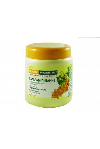 Облепиха и Липовый цвет Бальзам-питание с экстрактами облепихи и липового цвета для сухих и поврежденных волос