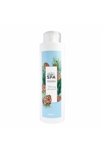 Belita SPA Пена для ванн «Сибирский кедр и можжевельник»,520мл