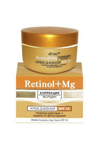 RETINOL+MG Крем дневной глубокого действия  SPF 10 45мл