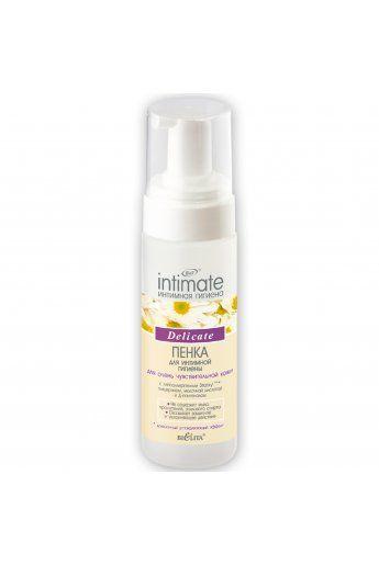 Intimate Пенка для интимной гигиены для очень чувствительной кожи Delicate 175мл